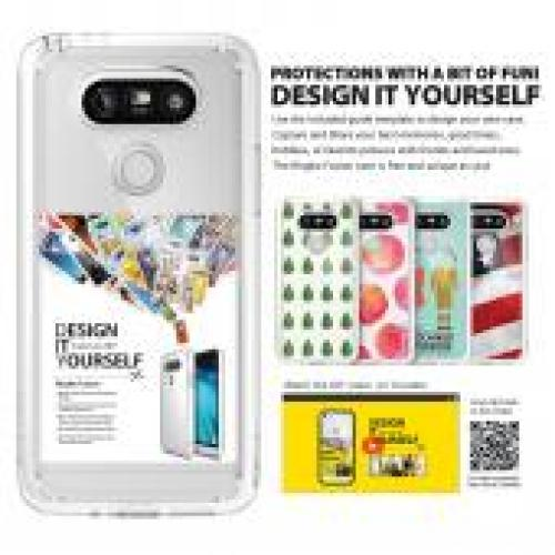LG G5  Case, Ringke [Smoke Black] FUSION Series Crystal Clear PC Back TPU Bumper Case