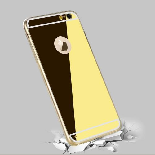 Apple iPhone 6S Case, Ringke [Gold] FUSION MIRROR Drop Protection / Shock Absorption Case