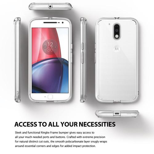 [Moto G4/G4 Plus] Case, Ringke [FUSION] Clear Case