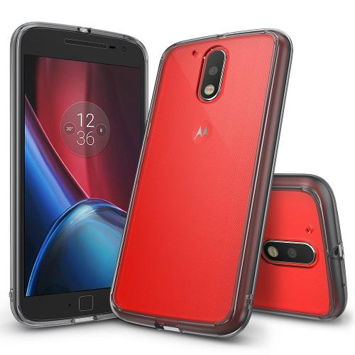 Moto G4/G4 Plus Case, Ringke [FUSION] Smoke Black