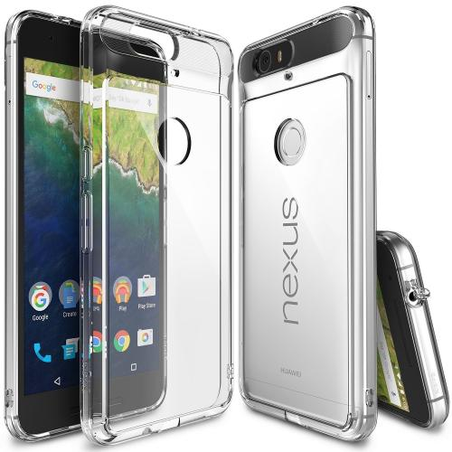 Huawei Google Nexus 6P Case,Ringke [Clear] FUSION Series Shock Absorption Premium Clear Hard Case