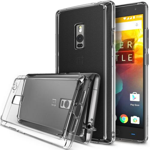 OnePlus Two Case, Ringke FUSION Series [Crystal View] Shock Absorption Premium Clear Hard Case