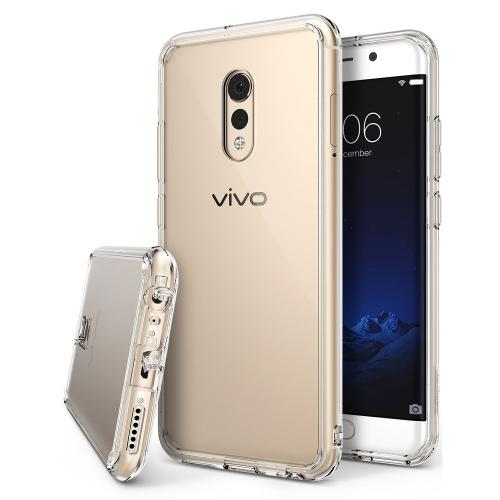Vivo Xplay 6 Case, Ringke [FUSION] Crystal Clear PC Back TPU Bumper Drop Protection Cover - Clear