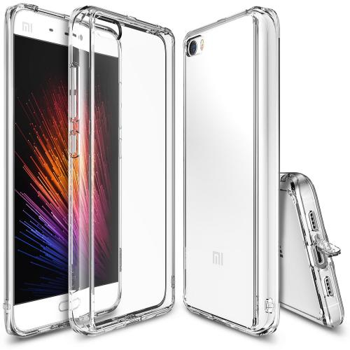 Xiaomi Mi 5 Case, Ringke [Clear] FUSION Series Shock Absorption TPU Bumper Clear Hard Case