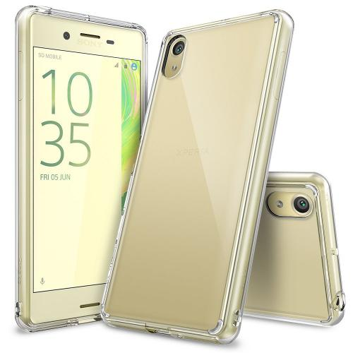 [Sony Xperia X Performance/XP]  Case, Ringke [Clear] FUSION Crystal Clear PC Back TPU Bumper [Drop Protection/Shock Absorption Technology] Protective Cover