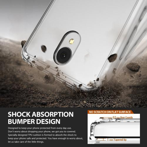 Xiaomi Redmi Note 2 Case, Ringke FUSION Series [Clear] Shock Absorption Premium Clear Hard Case