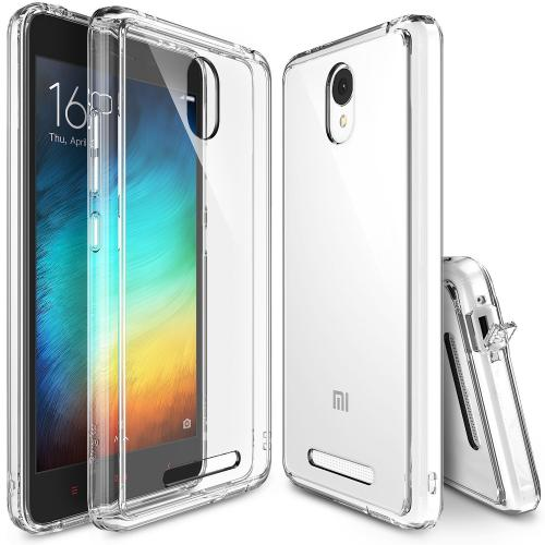 Xiaomi Redmi Note 2 Case, Ringke FUSION Series [Crystal View] Shock Absorption Premium Clear Hard Case