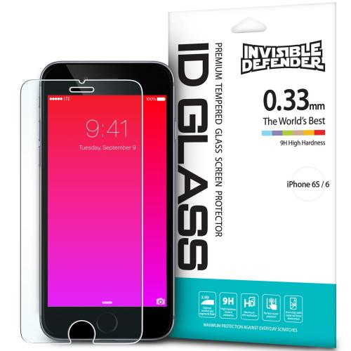iPhone 6S Screen Protector - Ringke Invisible Defender [TEMPERED GLASS] For Apple iPhone 6S / iPhone 6