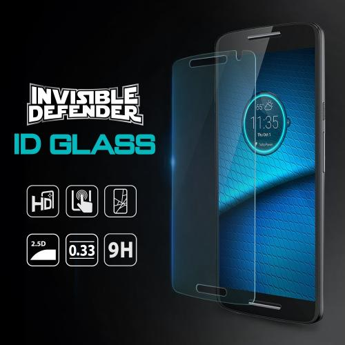 Motorola Droid Maxx 2 Screen Protector - Ringke Invisible Defender [TEMPERED GLASS]