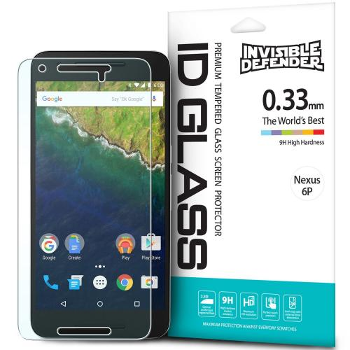 Nexus 6P Screen Protector - Ringke Invisible Defender [TEMPERED GLASS] For Huawei Google Nexus 6P