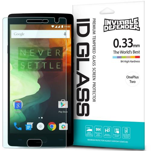 OnePlus 2 Screen Protector - Ringke Invisible Defender [TEMPERED GLASS] For OnePlus Two