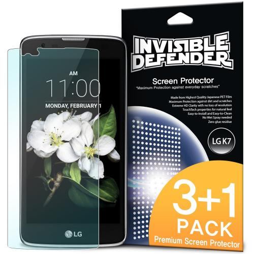 LG K7 / Tribute 5 Screen Protector - Invisible Defender [MAX HD CLARITY]