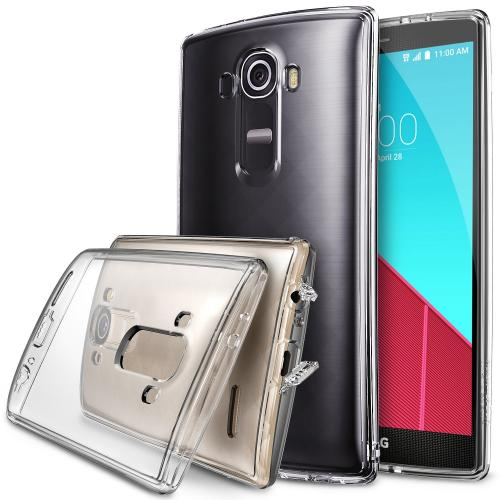 LG G4 Case, Ringke [Crystal Clear] FUSION Series Crystal Back Bumper Case w/ Free Screen Protector
