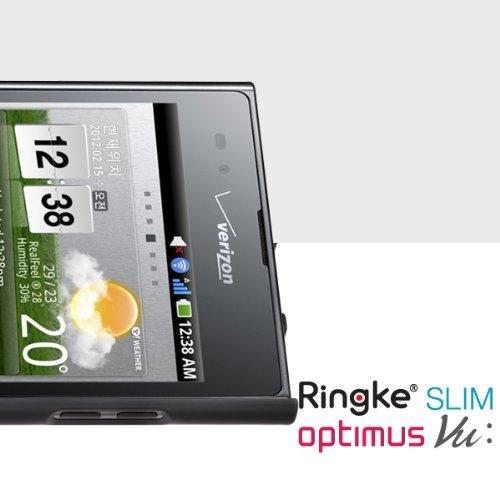 Ringke Black SLIM Series Dual Coating Perfect Grip Hard Case for LG Intuition