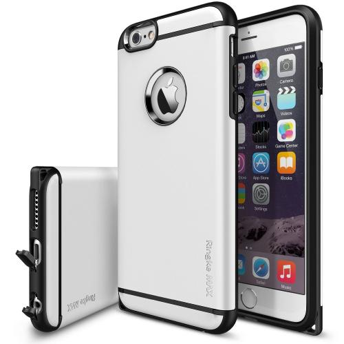 Ringke White MAX Series Dual Layer Hybrid Protective Case for Apple iPhone 6 Plus