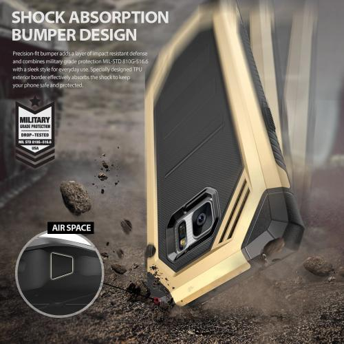 Samsung Galaxy Note 7  Case, Ringke [Yellow] MAX [Shock Absorption Technology] Stylish Armor Strength Resistant Protective Cover Case
