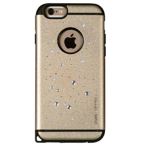 iPhone 6 Case, Ringke [Space Royal Gold] NOBLE Series Swarovski Armor Case - Premium Handcrafted Rhinestone Crystal Dual Layer Hybrid Armor Case for Apple iPhone 6 - Retail Packaging