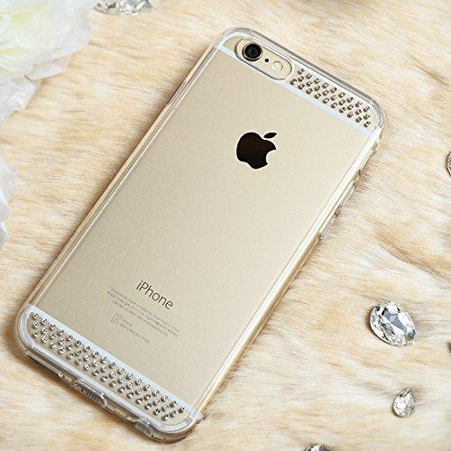 Apple iPhone 6 PLUS/6S PLUS (5.5 inch) Case, Ringke [Line Crystal View] NOBLE Series Swarovski Armor Case - Premium Handcrafted Rhinestone Crystal Dual Layer Hybrid Armor Case for Apple iPhone 6 Plus - Retail Packaging