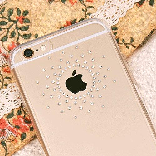 Apple iPhone 6 PLUS/6S PLUS (5.5 inch) Case, Ringke [Clear] NOBLE Series Swarovski Armor Case - Premium Handcrafted Rhinestone Crystal Dual Layer Hybrid Armor Case for Apple iPhone 6 Plus - Retail Packaging