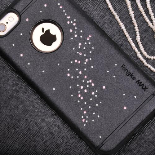 Apple iPhone 6 PLUS/6S PLUS (5.5 inch) Case, Ringke [Milky Way White] NOBLE Series Swarovski Armor Case - Premium Handcrafted Rhinestone Crystal Dual Layer Hybrid Armor Case for Apple iPhone 6 Plus - Retail Packaging