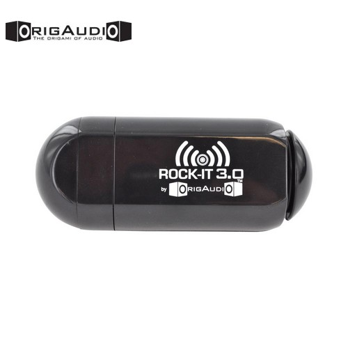 OrigAudio Universal Rock-It 3.0 Portable Vibration Speaker w/ Rechargeable Battery (3.5mm) - Black