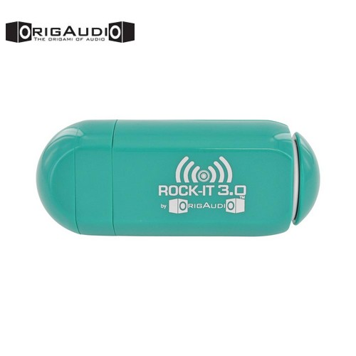 OrigAudio Universal Rock-It 3.0 Portable Vibration Speaker w/ Rechargeable Battery (3.5mm) - Green