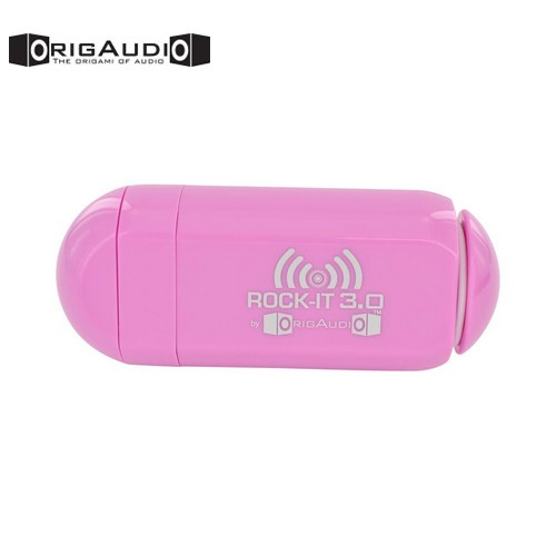 OrigAudio Universal Rock-It 3.0 Portable Vibration Speaker w/ Rechargeable Battery (3.5mm) - Pink