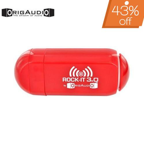 OrigAudio Universal Rock-It 3.0 Portable Vibration Speaker w/ Rechargeable Battery (3.5mm) - Red