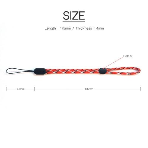 Ringke® Paracord Lanyard Wrist Strap [UBER GLOW] for Smartphones & IDs, etc.
