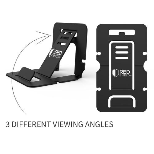 [REDshield] Phone Stand - Portable, Foldable Smartphone Stand - For Apple Iphone 5/6/6 Plus, Samsung Galaxy S4/s5,and more!