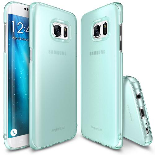 Samsung Galaxy S7 Edge, Ringke [SLIM][Frost Mint] Snug-Fit Ultra-Thin All Coverage Hard Case