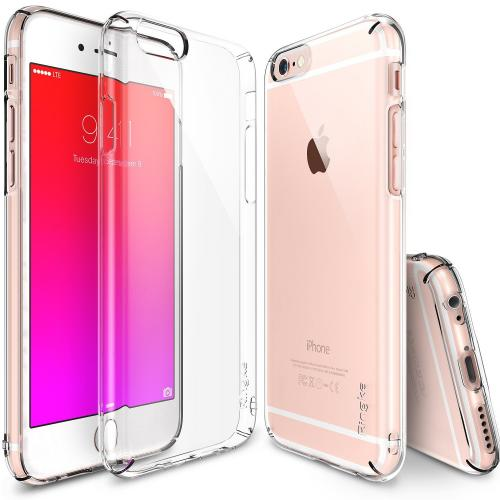 Apple iPhone 6S PLUS (5.5 inch) Hard Case, Ringke [Clear] SLIM Series Perfect Fit & Slim Scratch-Resistant Protective Hard Case w/ Free Screen Protector