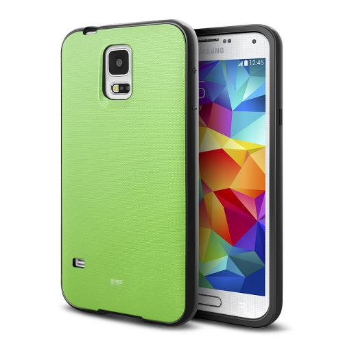 REDShield® Samsung Galaxy S5 Case | [Impact Resistant] Silicone TPU with Satin Back [Anti-Slip] [Mint]
