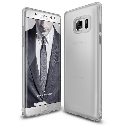 Samsung Galaxy Note 7, Ringke [SLIM] Perfect Fit Scratch-Resistant Protective Hard Case - Frost Gray