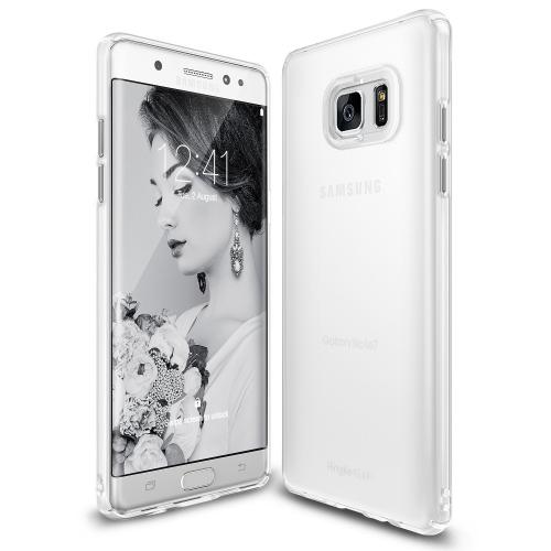 Samsung Galaxy Note 7  Case, Ringke [Frost White] SLIM Snug-Fit Slender [Tailored Cutouts] Ultra-Thin Fluid Curved Edge Enhance Protective Case Superior Coating PC Hard Skin Cover