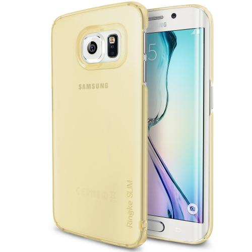 Ringke Frost Yellow SLIM Series Dual Coating Perfect Grip Hard Case for Samsung Samsung Galaxy S6