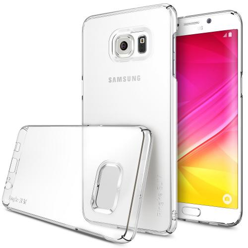 [Samsung Galaxy S6 Edge Plus] Case, Ringke [Clear] SLIM Series Full Top/ Bottom Coverage Dual Coated Hard Case