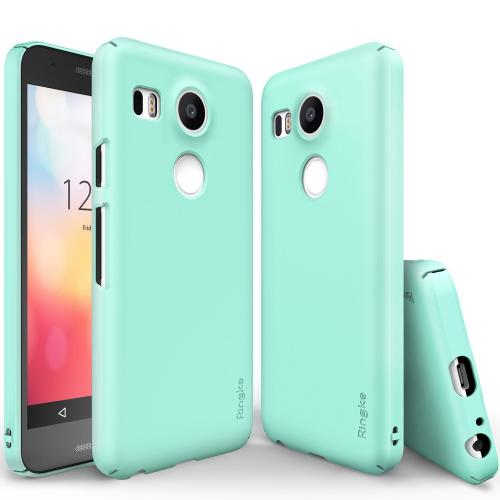 Nexus 5X Case, Ringke SLIM Series [Mint] Perfect Fit & Ultra Slim Scratch-Resistant Protective Hard Case For LG Google Nexus 5X
