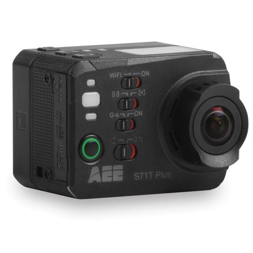 AEE S71T Plus 4K15 16MP Wifi Action Camera w/ Touch LCD & Wrist Remote