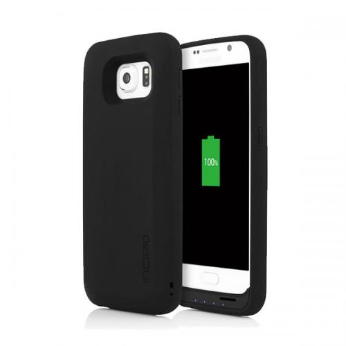 Samsung Galaxy S6/ S6 Edge Case, Incipio [Black] CHARGING Case offGRID Express Backup Battery Case