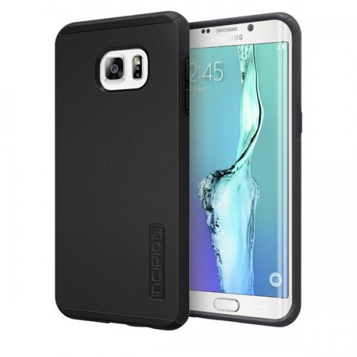 Samsung Galaxy S6 Edge Plus, Incipio [Black] Dual PRO Series Dual Layer Rubberized Hard Cover on Silicone Skin Heavy Duty Protective Hybrid Case