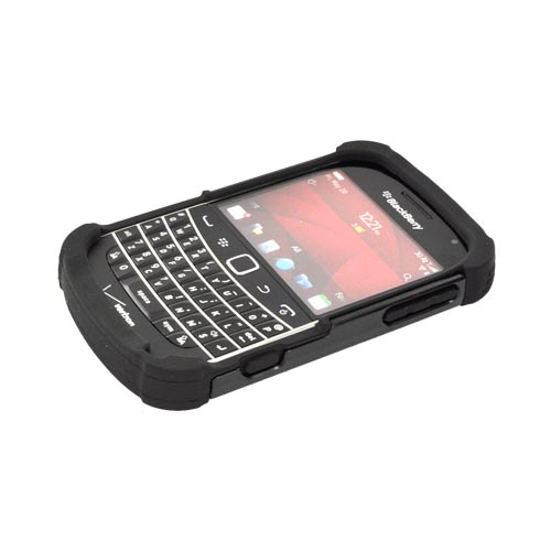 Original Ballistic Blackberry Bold 9900, 9930 SG Hard Case on Silicone, SA0607-M005 - Black