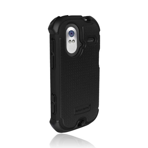 Original Ballistic HTC Amaze 4G SG Hard Case on Silicone, SA0790-M005 - Black