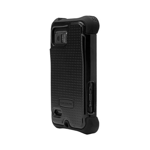Original Ballistic Motorola Droid Bionic SG Hard Case on Silicone, SA0791-M005 - Black