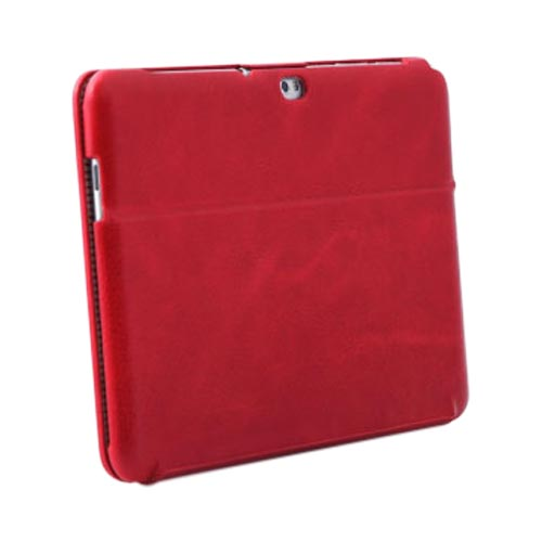 Original Zenus Samsung Galaxy Tab 10.1 E'stime Leather Stand Case, SAG10-EP5ST-FR - Fierce Red