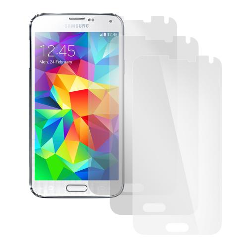 Screen Protector Medley w/ Regular, Anti-Glare, & Mirror Screen Protectors for Samsung Galaxy S5