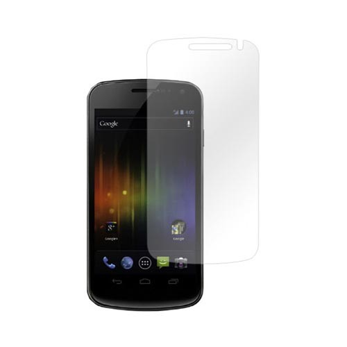 Samsung Galaxy Nexus Essential Bundle Package w/ Premium Horizontal Leather Pouch, Screen Protector, &  Car Charger