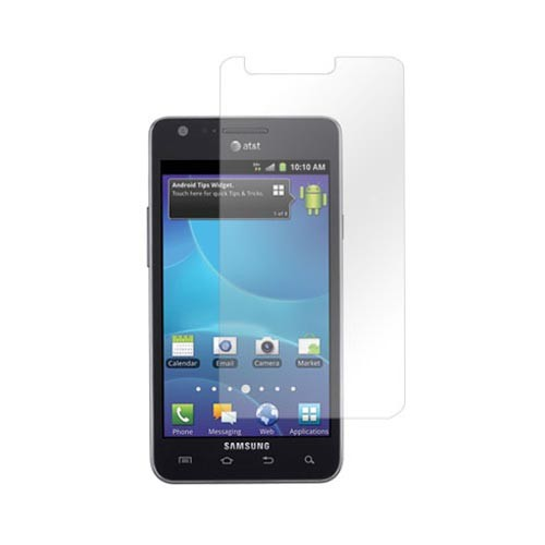 Samsung Galaxy S2 Skyrocket Essential Bundle Package w/ Premium Horizontal Leather Pouch, Screen Protector, &  Car Charger