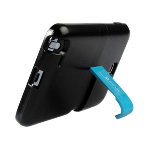 Original Zenus Samsung Galaxy Note Capsule Slide Series Hard Case w/ Kickstand, SAGXN-TS1SJ-BKBU - Black/ Blue