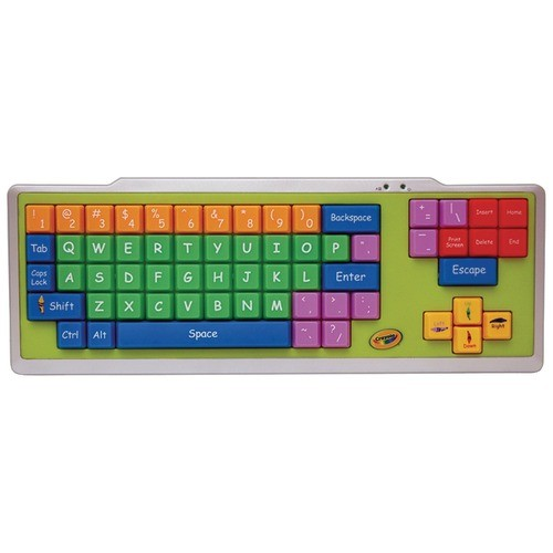 DIGITAL CONCEPTS 11071 CRAYOLA USB EZ TYPE KEYBOARD